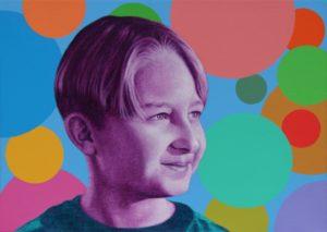 Naučte se malovat - Obraz na zakázku - Portrét Roberta