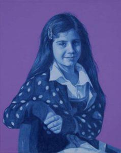 Naučte se malovat - Obraz na zakázku - Portrét Sáry