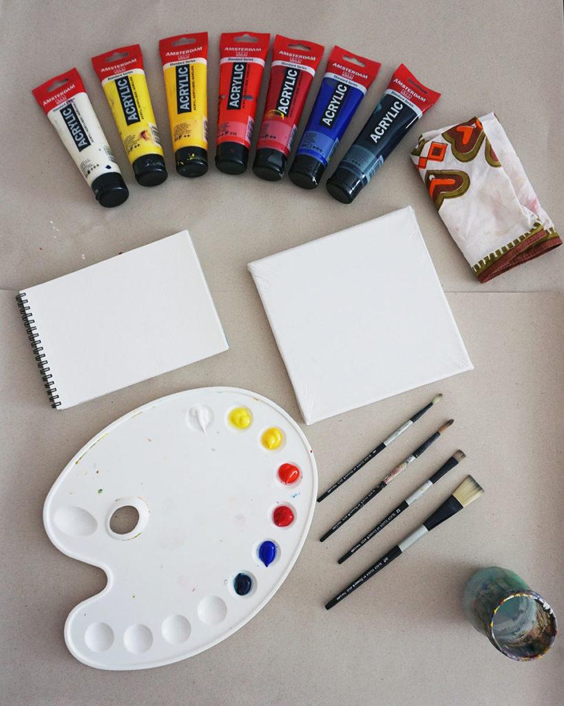 Naučte se malovat - Jak vybrat barvy