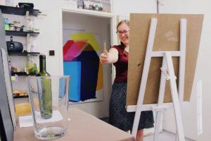 Naučte se malovat - Atelier Aldina Popaji - Kresba a malba