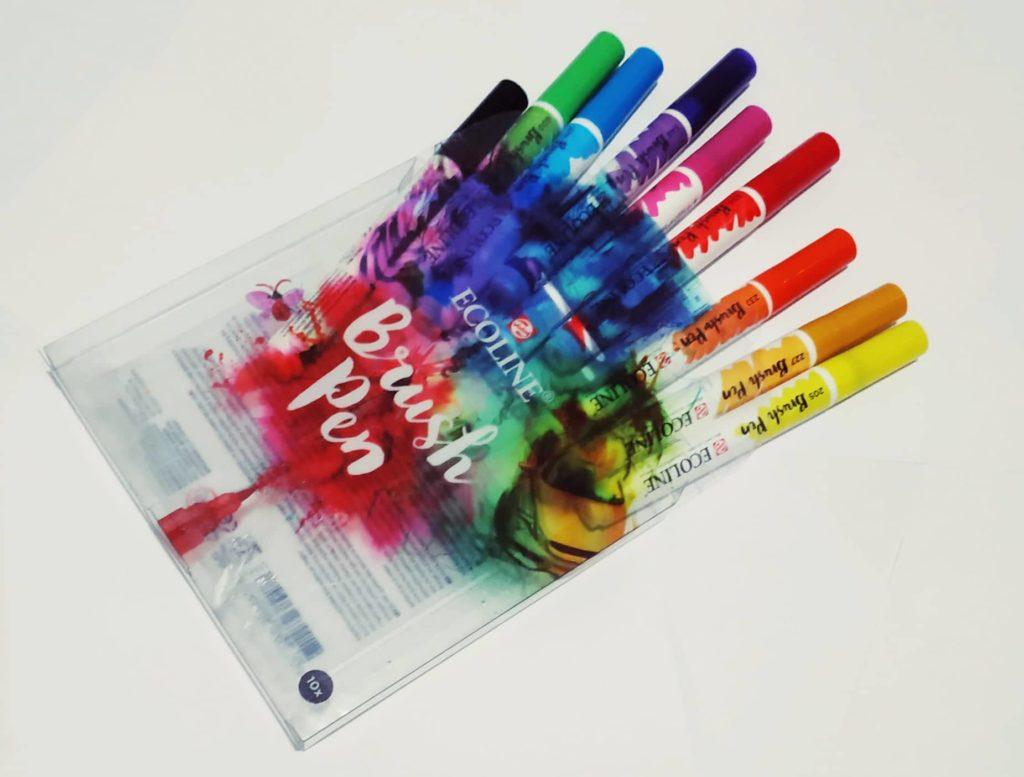 Naučte se malovat - Akvarelové fixy