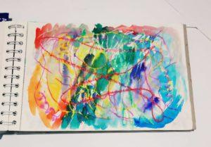 Naučte se malovat - Akvarelové voskovky