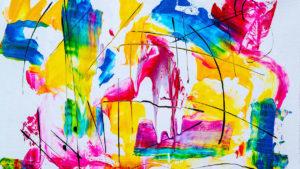 Naučte se malovat - Abstraktní malba