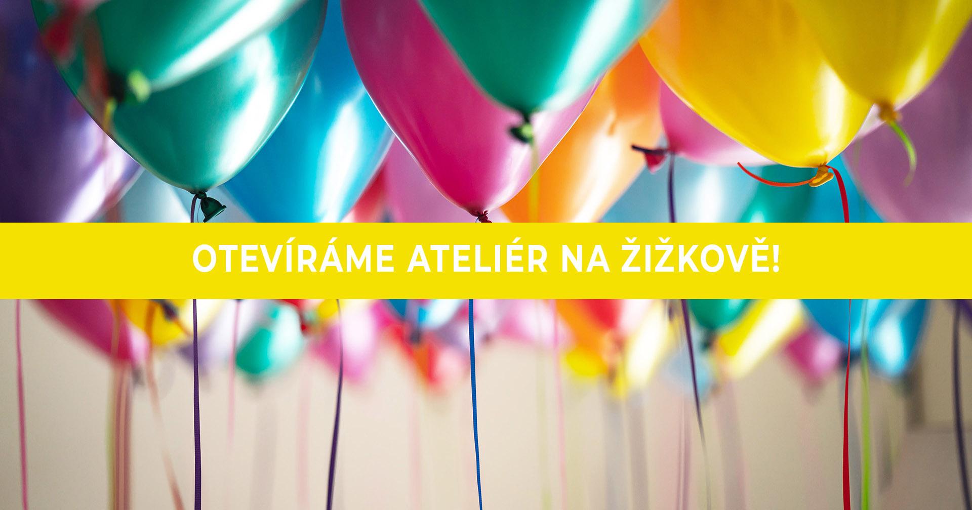Den otevřených dveří v ateliéru na Žižkově! – 14. 1. 2020 (7:30 – 19:00)