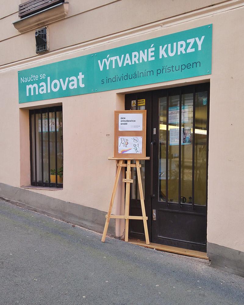 Naučte se malovat - Ateliér Přibyslavská Praha 3 Žižkov