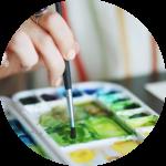 Naučte se malovat - Malování vodovkami