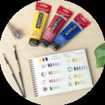 Naučte se malovat - Jak míchat barvy