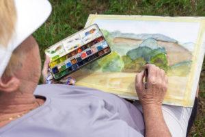 Naučte se malovat - Jak namalovat krajinu