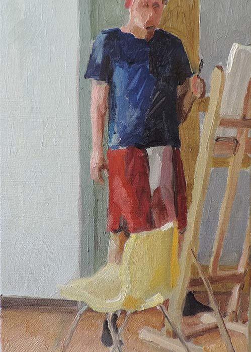 Naučte se malovat David Čumalo 2