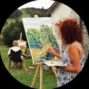Naučte se malovat - Víkendové malování