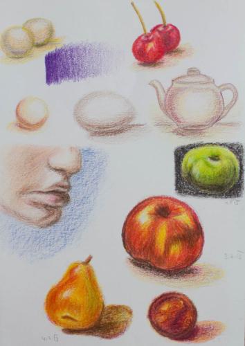 Nauctesemalovat Jak kreslit pastelem