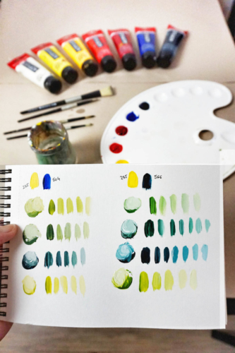 Nauctesemalovat Jak michat barvy (2)
