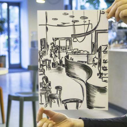Nauctesemalovat Skicovani v kavarne (3)