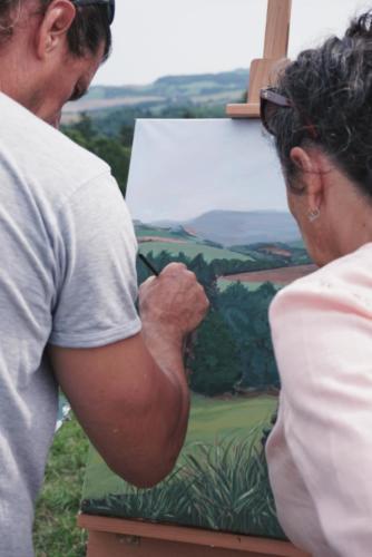 Naučte se malovat - Malování v Krkonoších 4